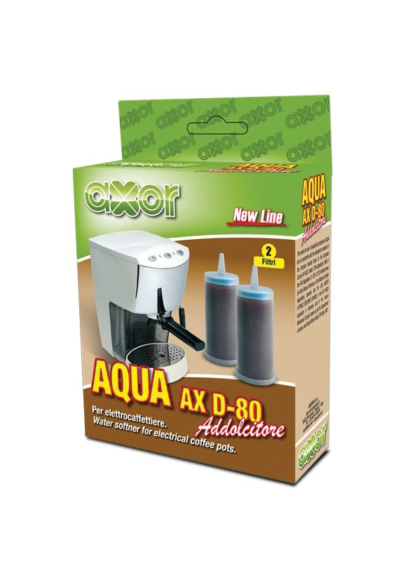 Filtro Addolcitore AQUA AX D80 Conf 2 pz