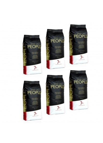 PEOPLE WHOLE BEANS KILO BAGS CART. 6 KG