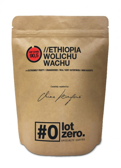 LotZero Specialty Ethiopia Wolichu Wachu 250g bag
