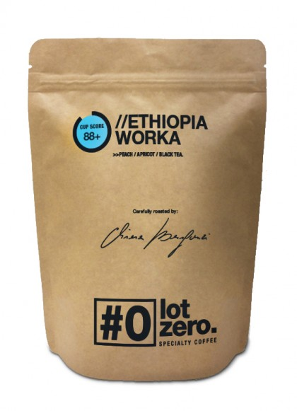LotZero Specialty Ethiopia Worka 250 g bag