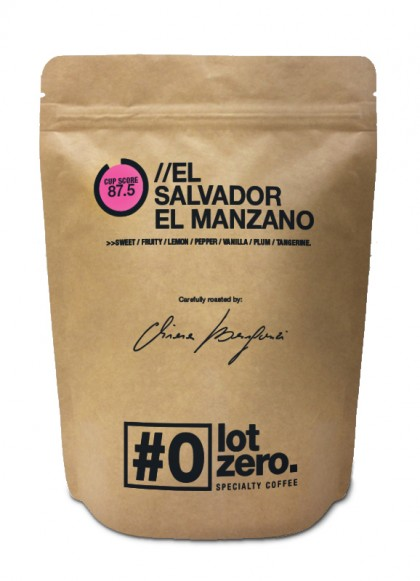 LotZero Specialty El Salvador El Manzano 250 g bag