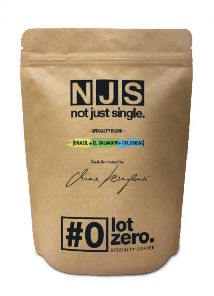 LotZero Specialty Blend NJS Brasile|Colombia|El Slavador Black Honey Busta 250 g