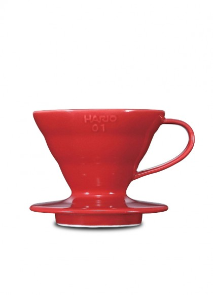 HARIO VDC-01R Coffee Dripper V60 01 Ceramic Red