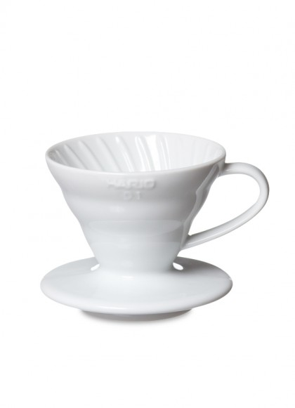 HARIO VDC-01W Coffee Dripper V60 01 Ceramic