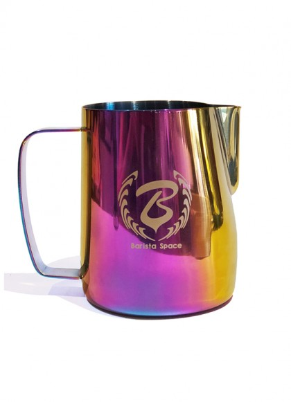 BaristaSpace Milk Jug Rainbow 600ml