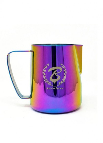 BaristaSpace Milk Jug Rainbow 450ml