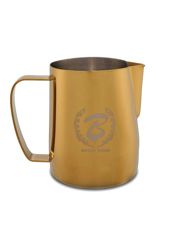 BaristaSpace Milk Jug Golden 600ml
