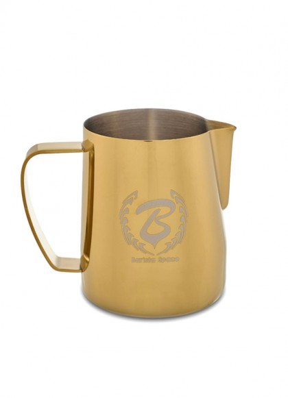 BaristaSpace Milk Jug Golden 450ml