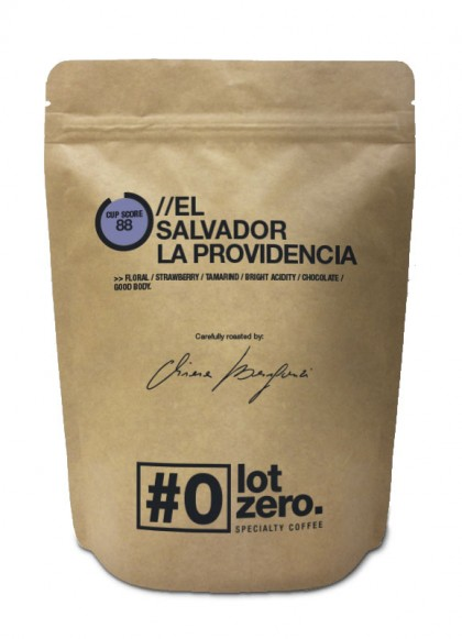 LotZero Specialty Salvador La Providencia Naturale Bag 250g
