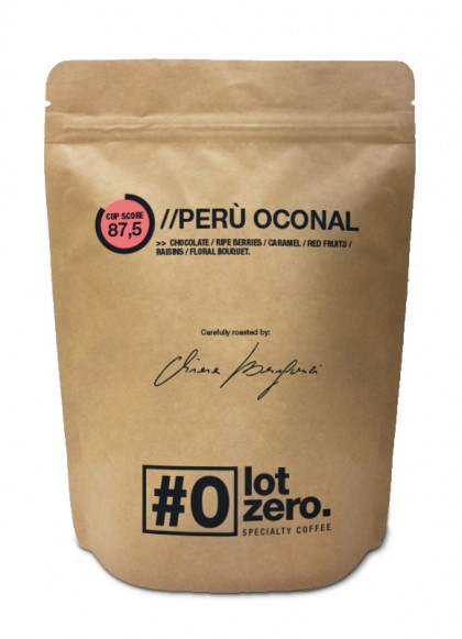 LotZero Specialty Perù Oconal Natural 250gr