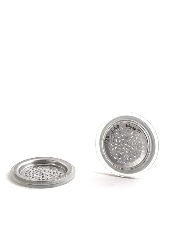 E&B LAB Inox Filtro in Acciaio per Moka 6 Tazze