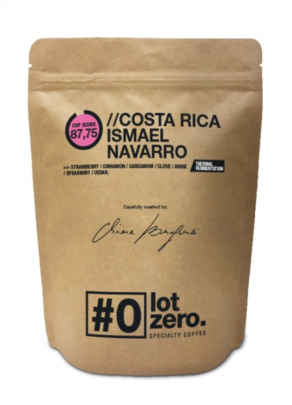 LotZero Specialty Costa Rica Ismael Navarro Thermic Bag 250gr