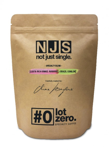 LotZero NJS Specialty Blend | Costa Rica Navarro Brasile Conilon Bus 250 gr