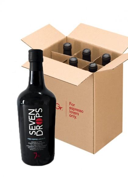 Liquore Sevendrops 70 Cl Cart da 6 bottiglie
