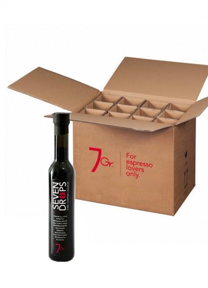 Sevendrops Coffee liqueur Box of 10 cl. bottles