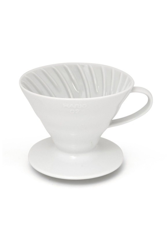 Hario Dripper V60 in Ceramica Bianca Size 02