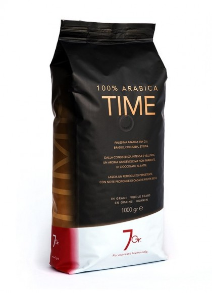 TIME WHOLE BEANS KILO BAG