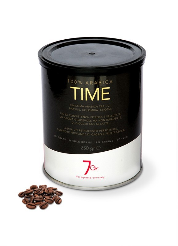 TIME TIN 250 G. WHOLE BEANS