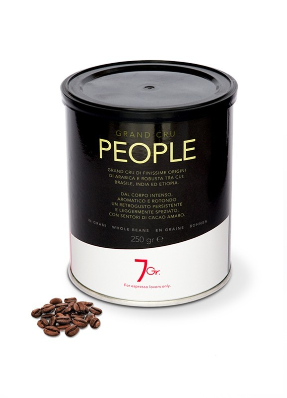 PEOPLE TIN 250 G. WHOLE BEANS