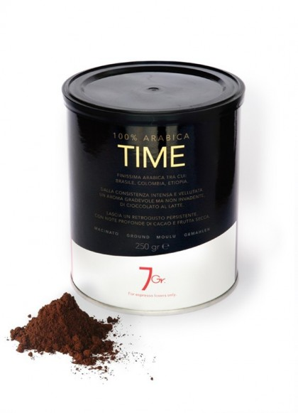 TIME TIN 250 G. GROUND COFFEE