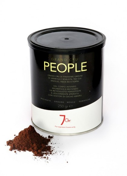 PEOPLE TIN 250 G. GROUND COFFEE