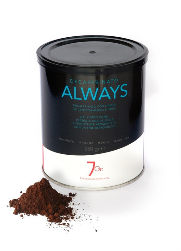 ALWAYS TIN 250 G. GROUND COFFEE