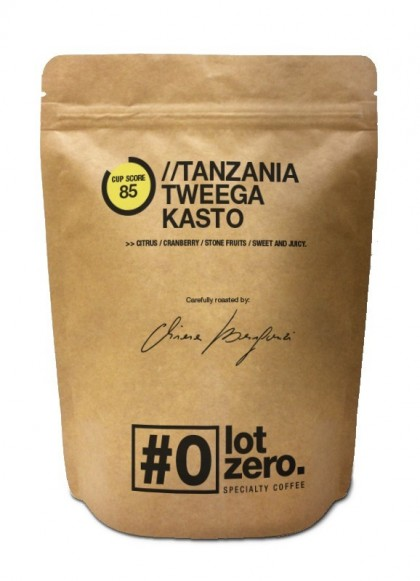 LotZero Specialty TanzaniaTweega Kasto Busta 250 g