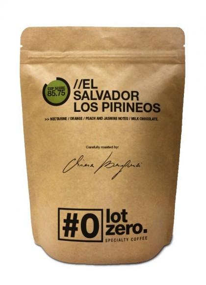 LotZero El Salvador Los Pirineos Busta 250g